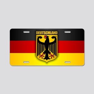 Deutschland Pride Aluminum License Plate