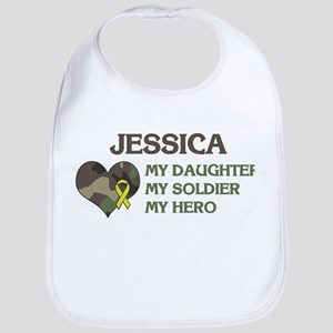 Jessica: My Hero Bib