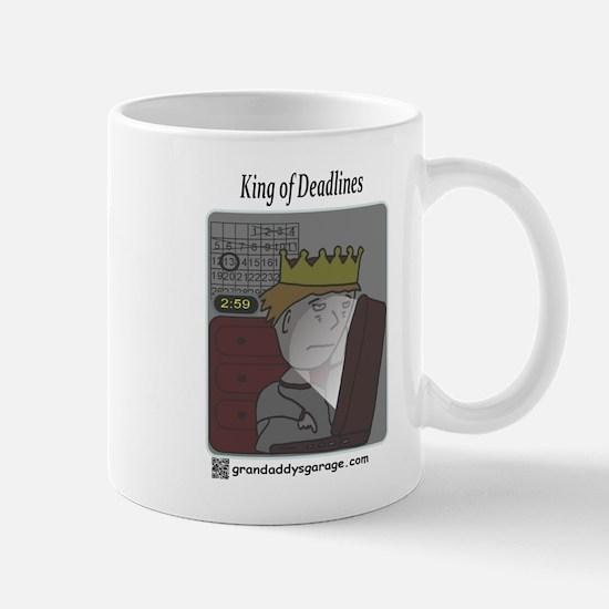 King of Deadlines Mugs