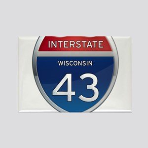Interstate 43 Magnets