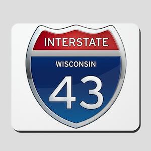 Interstate 43 Mousepad