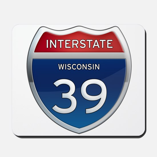 Interstate 39 Mousepad