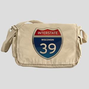 Interstate 39 Messenger Bag