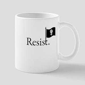 Resist Flag-Feminism Mugs