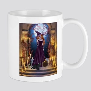 Halloween Witch Mugs