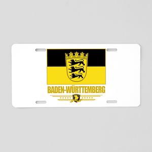 Baden-Wurttemberg (Flag 10) Aluminum License P