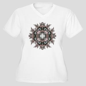 Frcatal 655 Women's Plus Size V-Neck T-Shirt