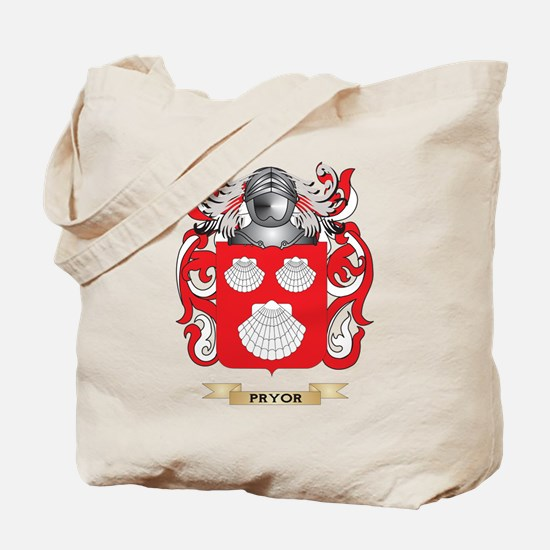 Pryor Coat of Arms (Family Crest) Tote Bag