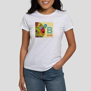 Women's T-Shirt - B Is For Boob