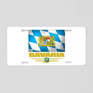 Bavaria (Flag 10) Aluminum License Plate