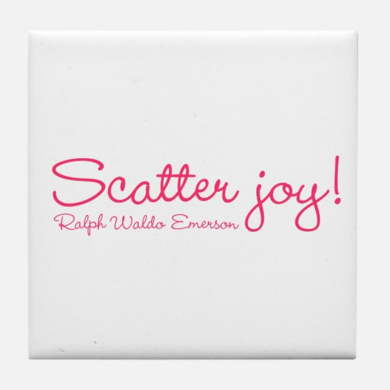 Scatter Joy Tile Coaster
