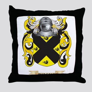 Purcell Coat of Arms (Family Crest) Throw Pillow