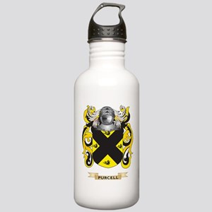 Purcell Coat of Arms (Family Crest) Water Bottle