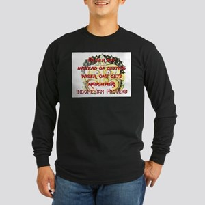 Older But Instead - Indonesian Proverb Long Sleeve