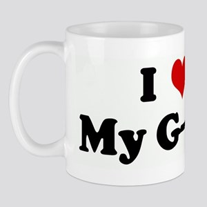 I Love My G-Ma Mug