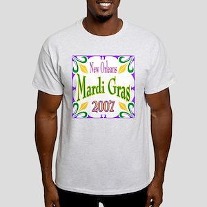 Mardi Gras 2007 Ash Grey T-Shirt