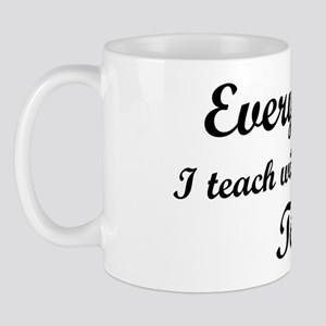 Everything I Teach Will Be On The Test Mug