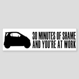 30 Minutes of Shame Bumper Sticker