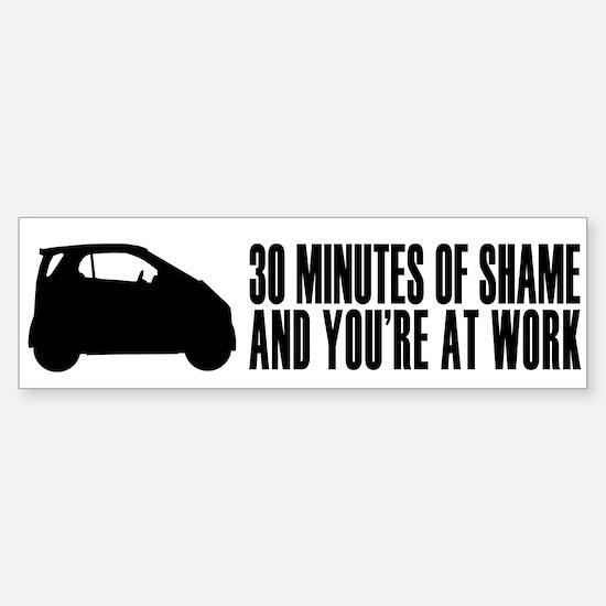 30 Minutes of Shame Bumper Bumper Bumper Sticker