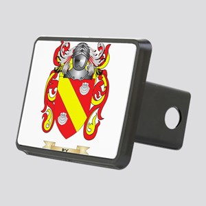 Py Coat of Arms (Family Crest) Hitch Cover