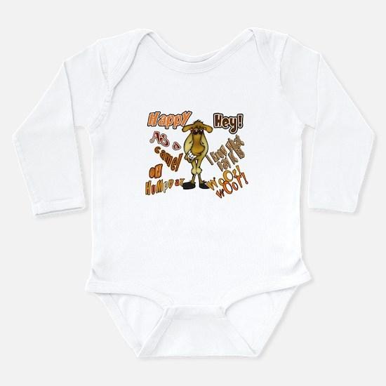 Happy HumP Day Long Sleeve Infant Bodysuit