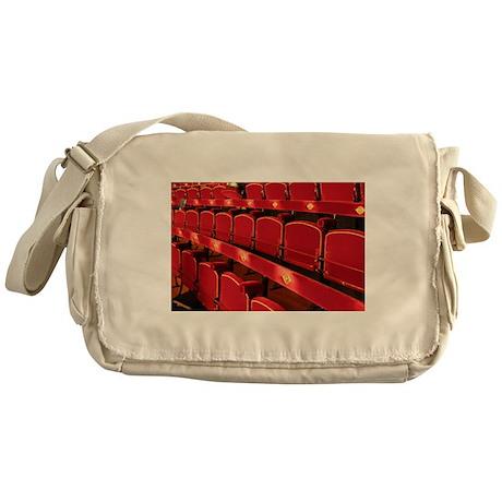 Opera Garnier Red Seats Messenger Bag