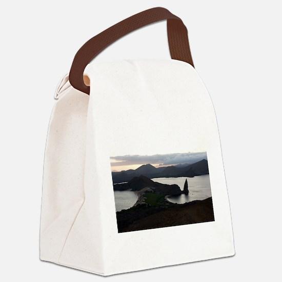Pinnacle Rock Galapagos Canvas Lunch Bag