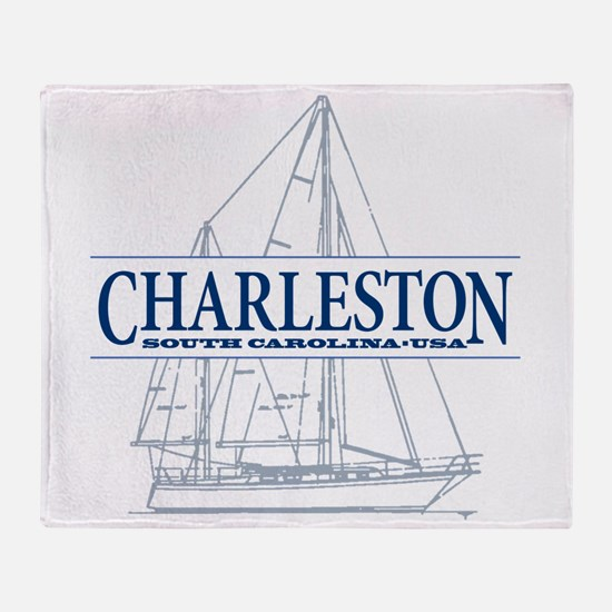 Charleston SC - Throw Blanket