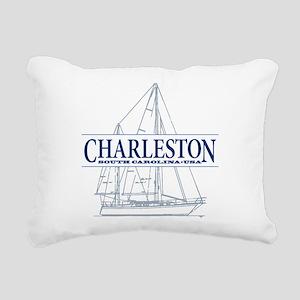 Charleston SC - Rectangular Canvas Pillow