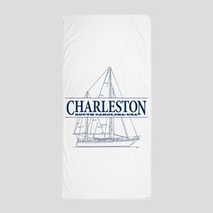 Charleston SC - Beach Towel