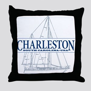 Charleston SC - Throw Pillow