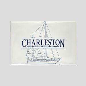Charleston SC - Rectangle Magnet