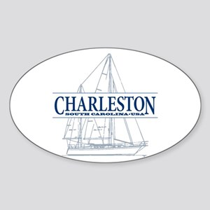 Charleston SC - Sticker (Oval)
