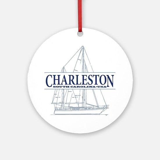 Charleston SC - Ornament (Round)