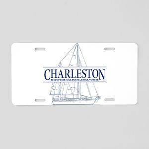 Charleston sc aluminum license plates cafepress charleston sc aluminum license plate negle Gallery