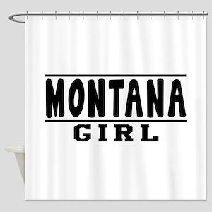 Montana Girl Designs Shower Curtain