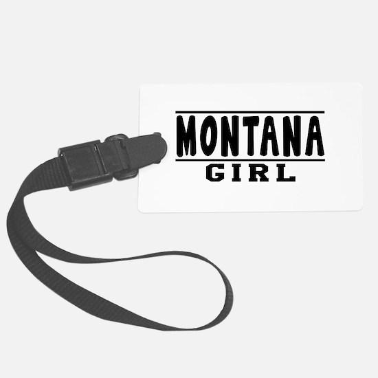 Montana Girl Designs Luggage Tag