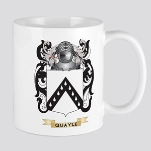 Quayle Coat of Arms (Family Crest) Mugs