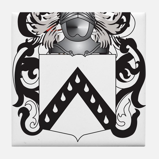 Quayle Coat of Arms (Family Crest) Tile Coaster