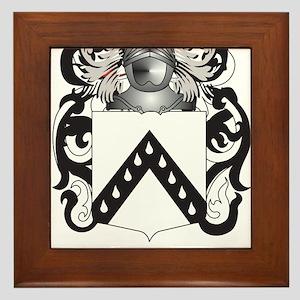 Quayle Coat of Arms (Family Crest) Framed Tile