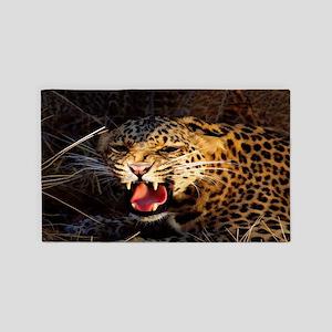Leopard 3'X5' Area Rug