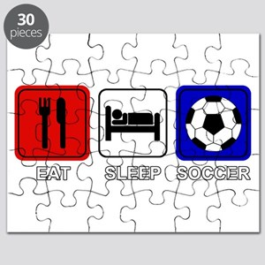 EAT SLEEP SOCCER Puzzle