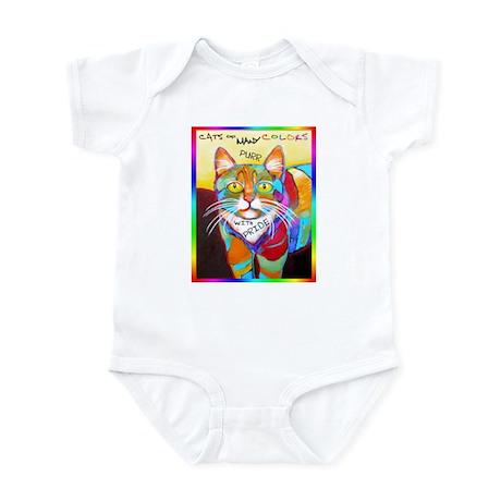 Rainbow Cat Infant Bodysuit