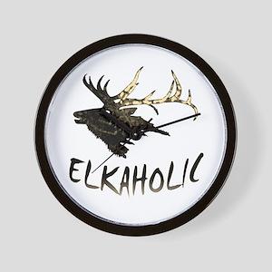 ELKAHOLIC Wall Clock