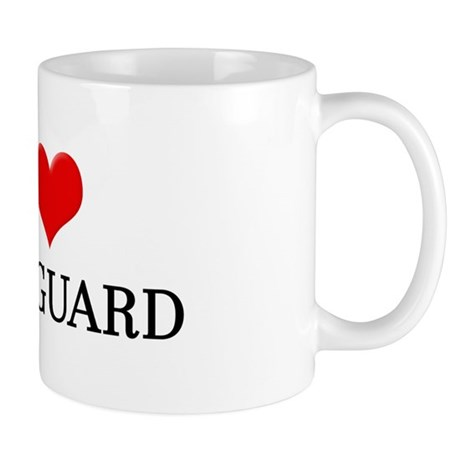 I Heart Colorguard Mug