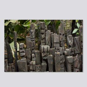 Totems Postcards (Package of 8)