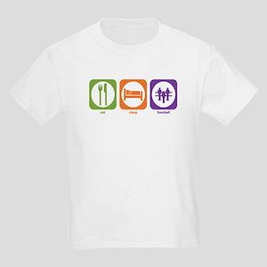 Eat Sleep Foosball Kids T-Shirt