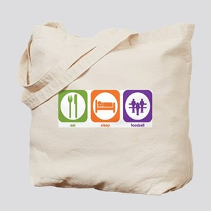 Eat Sleep Foosball Tote Bag