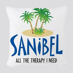 Therapy_T2 Woven Throw Pillow