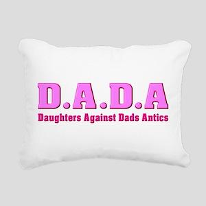 Daughters Against Dads Antics Rectangular Canvas P
